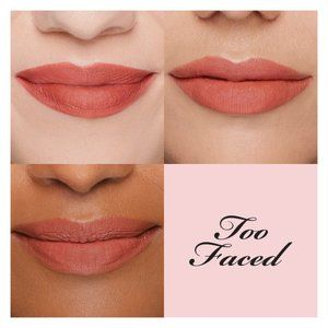 Too Faced Peach Kiss Lipstick FREE with TF palette